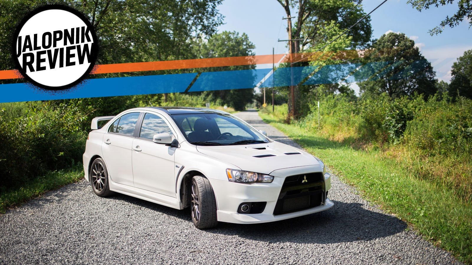 the mitsubishi lancer evo x final edition says goodbye with its middle finger in the air. Black Bedroom Furniture Sets. Home Design Ideas