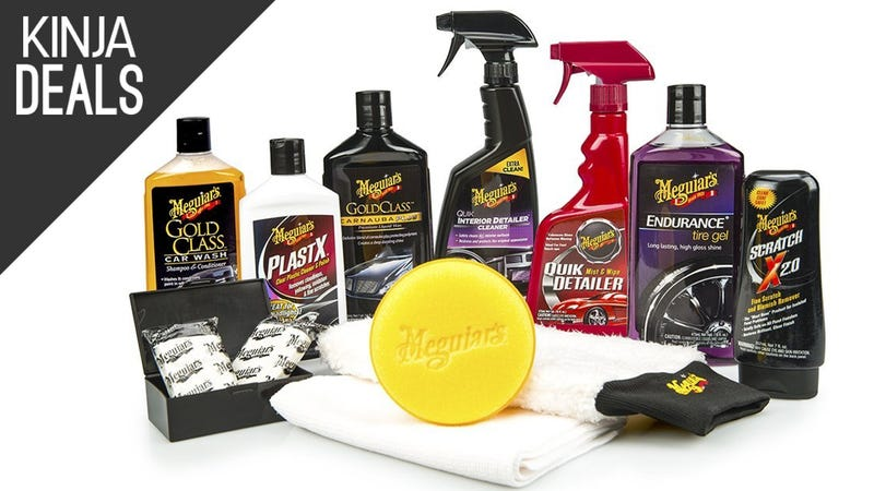 Illustration for article titled Keep Your Car Showroom-Shiny With This Discounted Detailing Kit