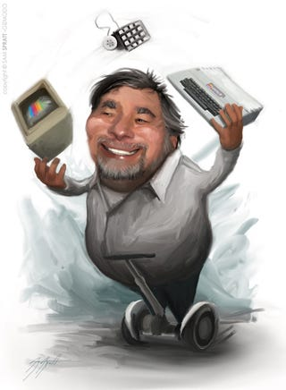 Illustration for article titled Happy 60th Birthday, Woz