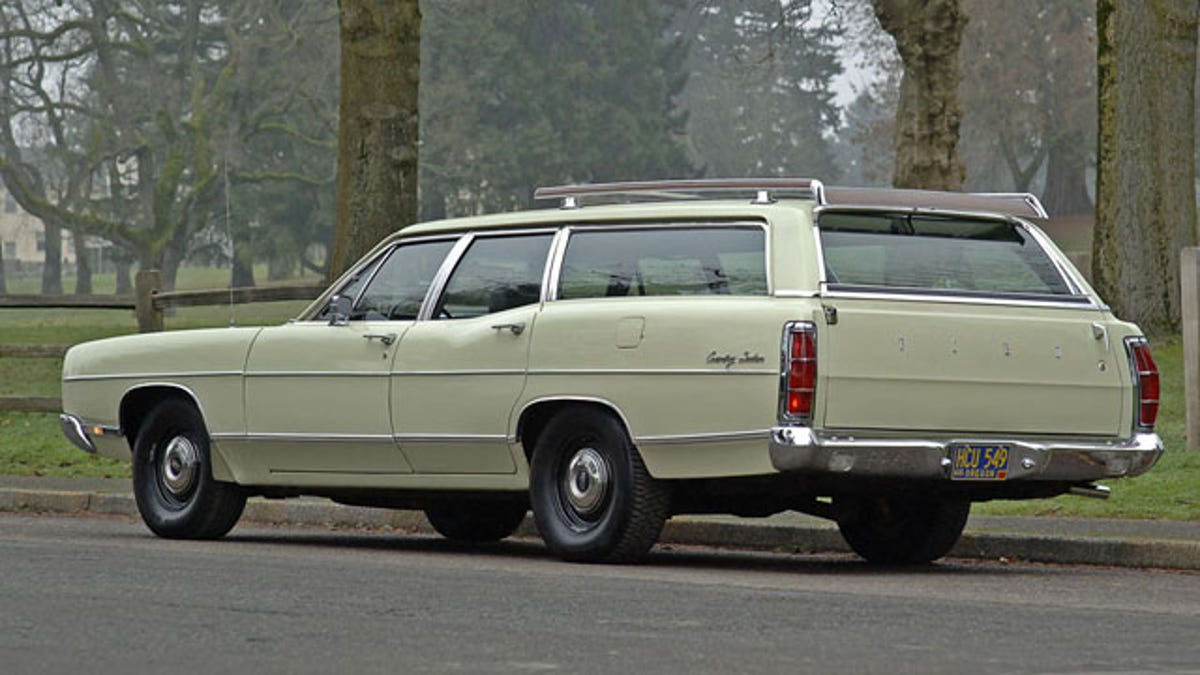 1969 Ford Galaxie wagon is a factory built sleeper