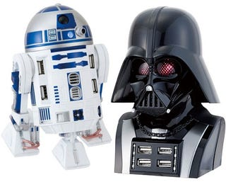 Illustration for article titled Official Star Wars USB Hubs May be Best USB Products Ever
