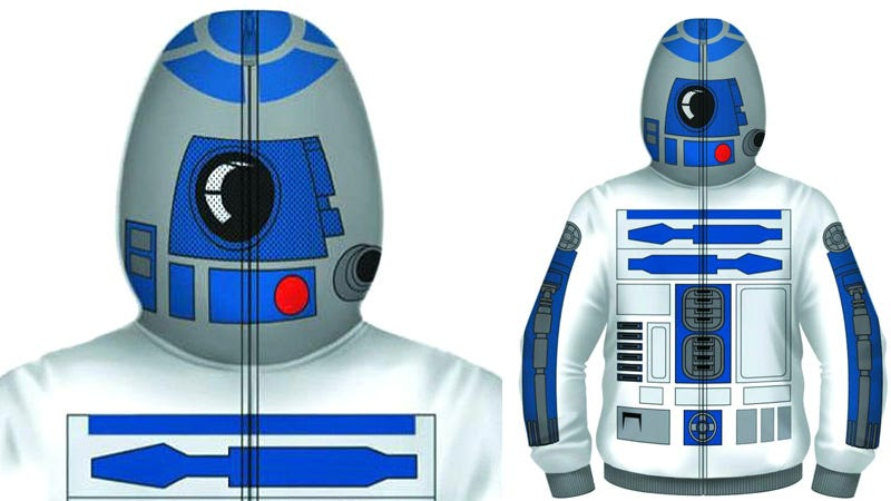 Illustration for article titled You Don't Have To Be Drunk To Want This R2-D2 Hoodie