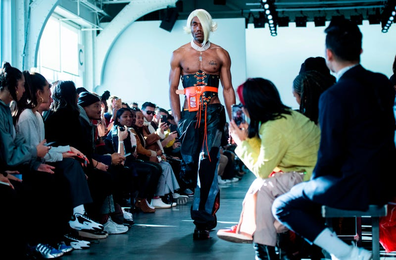 A model walks the runway at the 'No Sesso' Chapter 2 runway show during New York Fashion Week on February 4, 2019 in New York City.