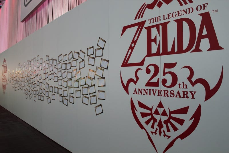 Its The 25th Anniversary Of Legend Zelda And To Celebrate Nintendo Is Letting Gamescom Fans Create Their Own Fan Birthday Cards For Franchise