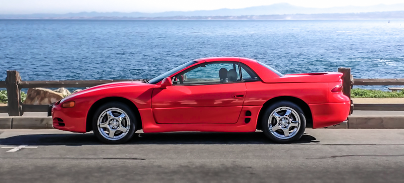 Illustration for article titled Why Buy A Used Hyundai When This Crazy-Rare 3000GT VR4 Spyder Is Way Cheaper?