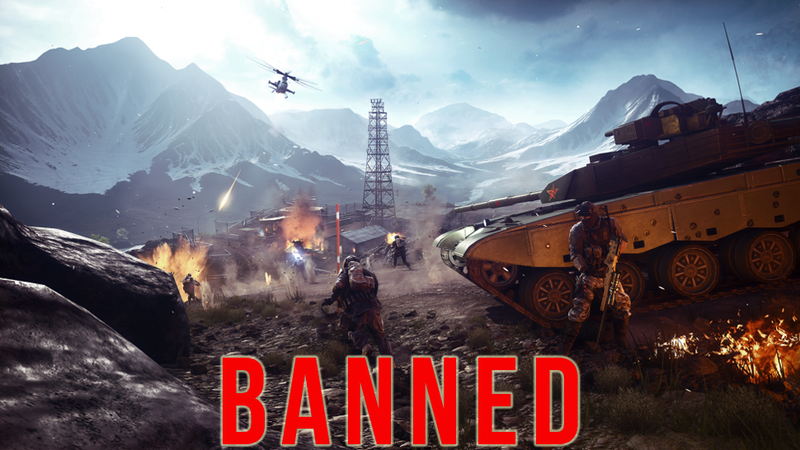 Illustration for article titled Why China Banned Battlefield 4, Modern Warfare 2, and 40 Other Games