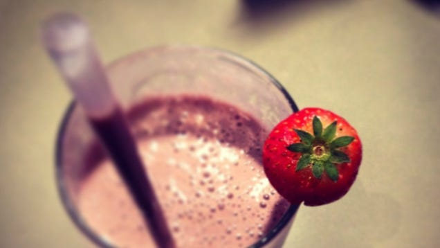 Give Your Strawberry Shake a Boozy Boost With Aperol