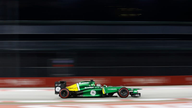 Illustration for article titled Caterham's Smart New F1 Racer Collects Data From 500 Onboard Sensors
