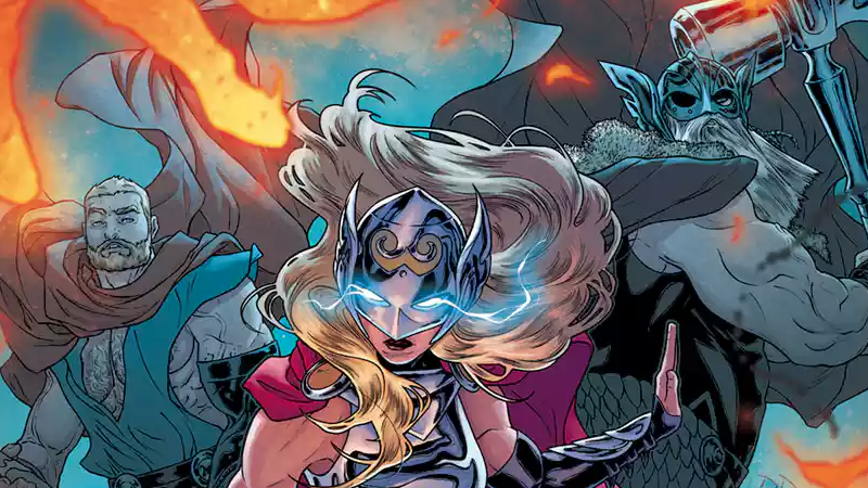 Image: Marvel Comics. The Mighty Thor #21 cover art by Russell Dauterman and Matt Wilson