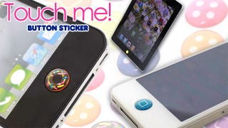 Illustration for article titled Home Button Stickers Bring Teen-Inspired Bling To Your iPhone