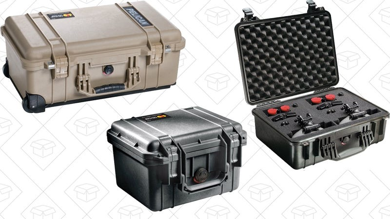 Pelican Case Gold Box | Amazon