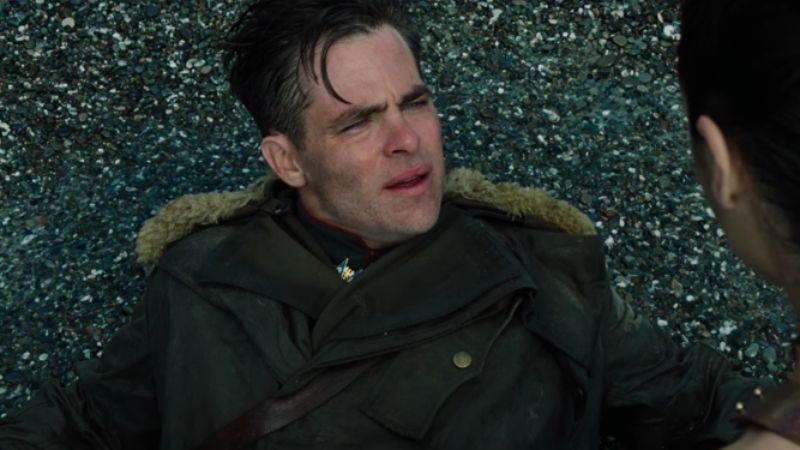 Chris Pine as Steve Trevor in Wonder Woman (2017)