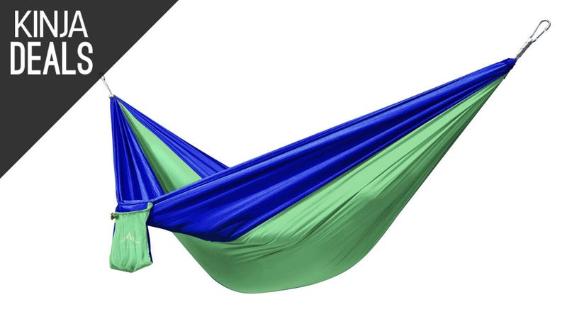 Illustration for article titled Own Your Very Own Hammock for Just $17