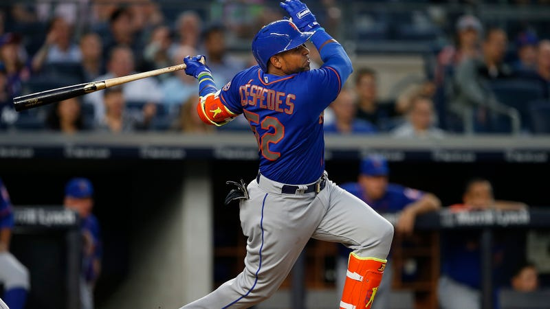 Illustration for article titled Yoenis Céspedes Smacked This One To Mars