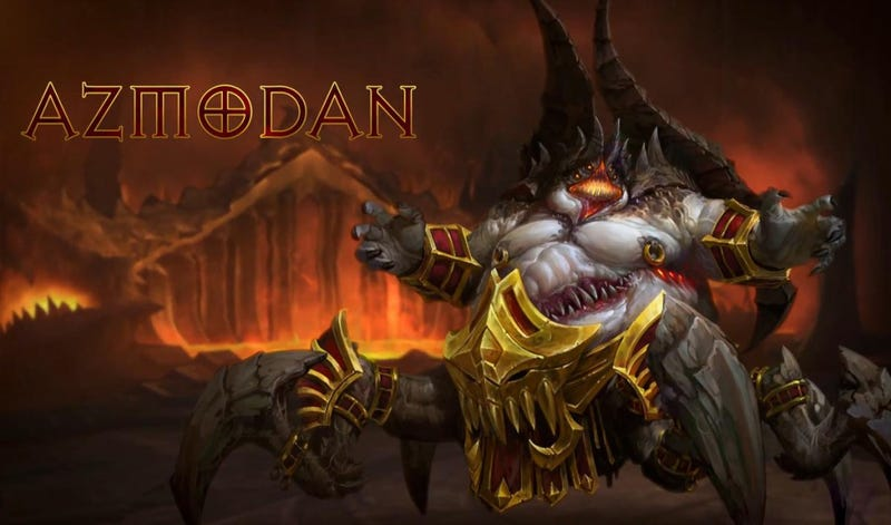 Azmodan, one of the Lesser Evils from Diablo