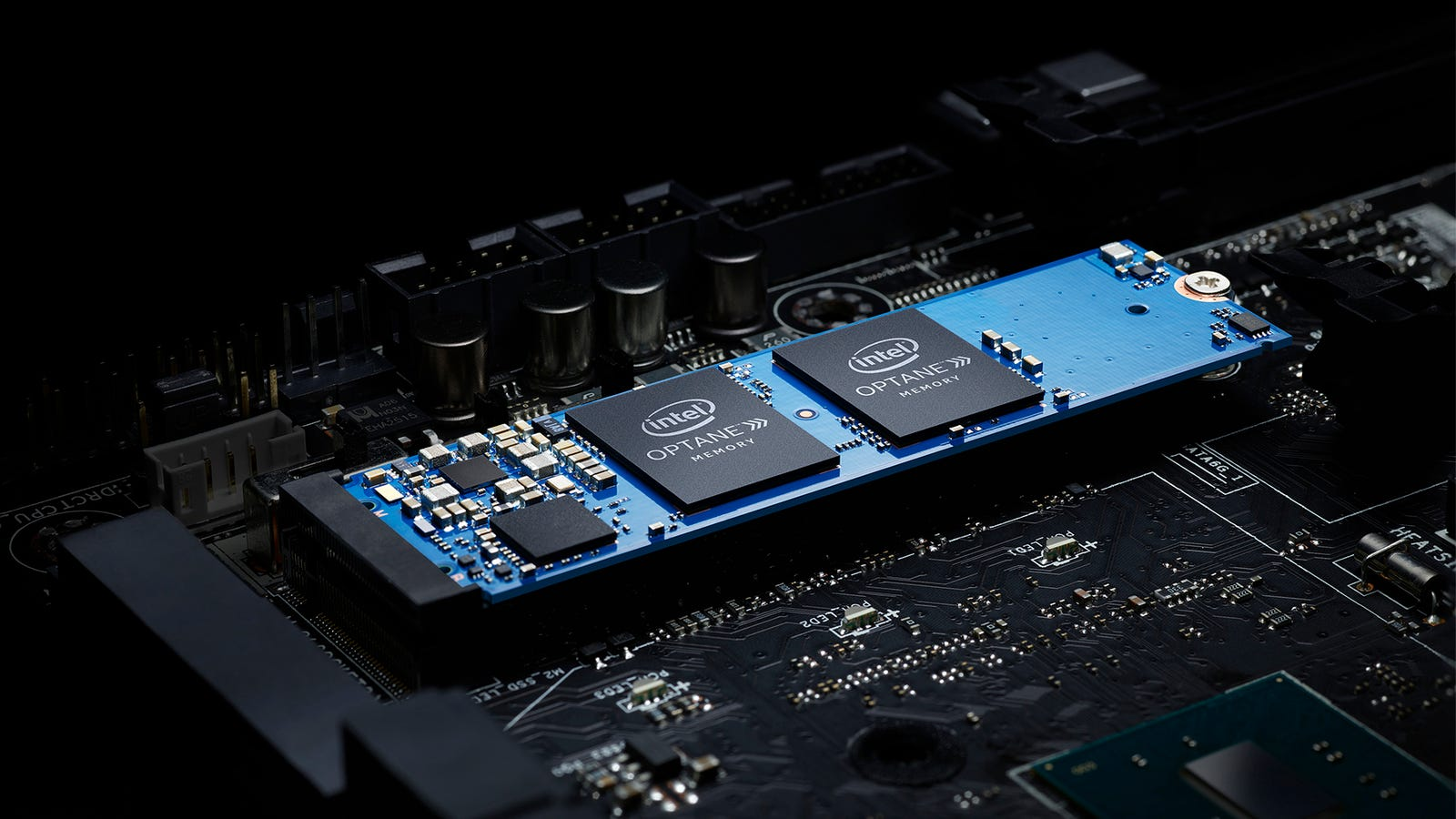 Intel Claims Its Magical New Memory Will Speed Your Computer Up For Laptop Hard Drive Displayed On A Circuit Board Clock Unique Cheap