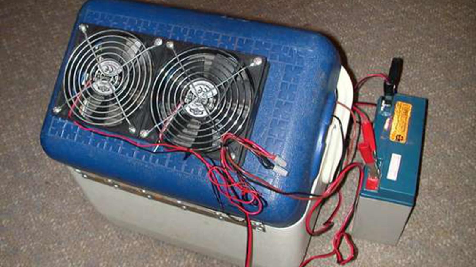 Build a DIY Portable Air Conditioner