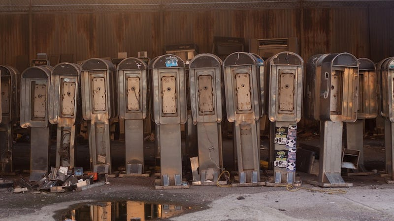 Illustration for article titled This Is Where Manhattan's Payphones Go to Die