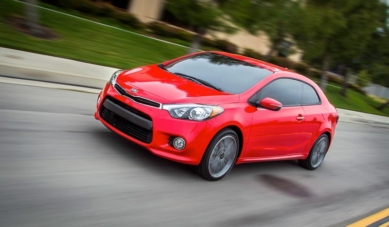 Illustration for article titled 2014 Kia Forte Koup: This Is It