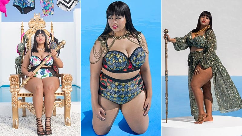 Illustration for article titled Look at These Cute as Hell Plus-Size Swimsuits