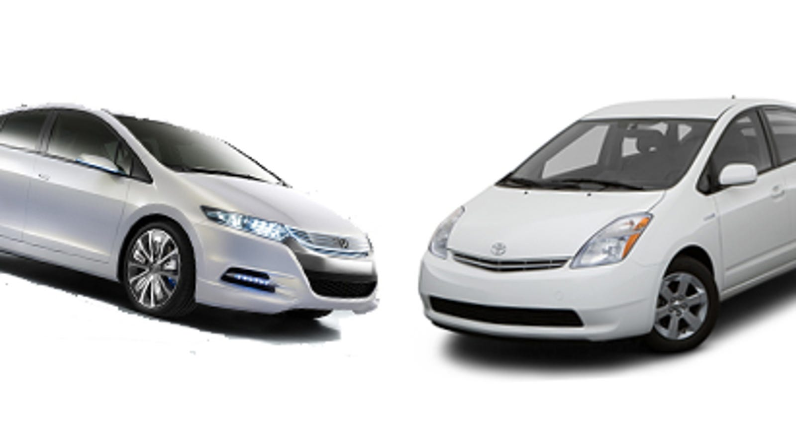 Honda Insight Vs Toyota Prius Separated At Birth
