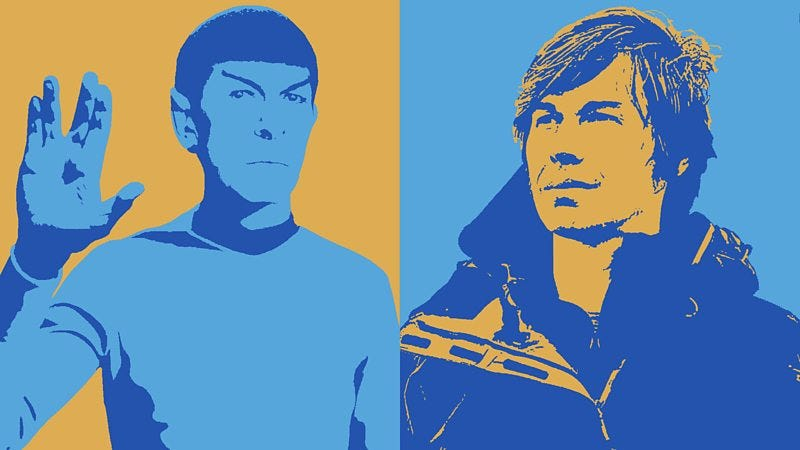 Illustration for article titled Spock or Brian Cox?