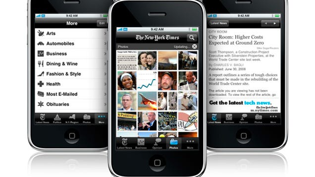 hey new york times fix your stupid iphone app