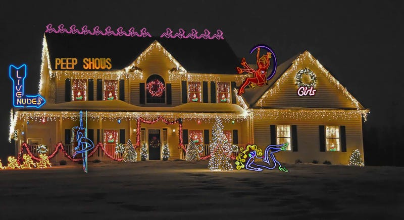 Illustration for article titled 14 Holiday Decorations You Won't See in the Neighborhood This Year