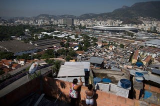 Illustration for article titled Gallery: In The Shadow Of Rio's Maracana Stadium