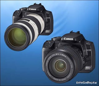 Illustration for article titled Canon EOS 400D Details Discovered