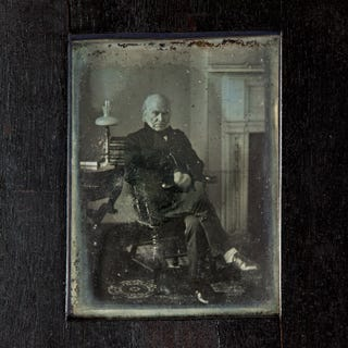 Illustration for article titled Oldest Known Photo of a U.S. President