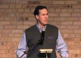 Rick Santorum (YouTube)