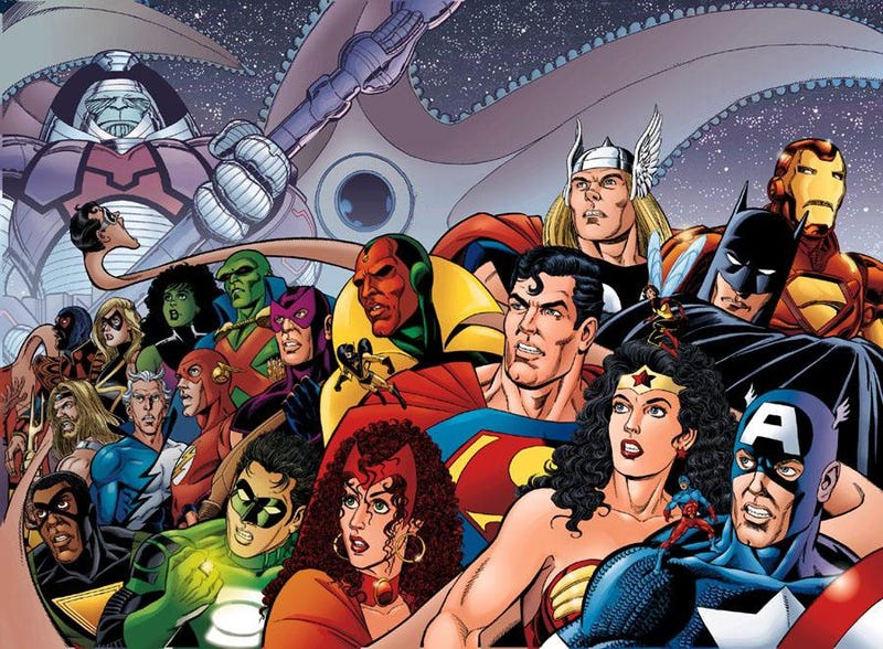 Illustration for article titled What Marvel and DC Should Do Right Now