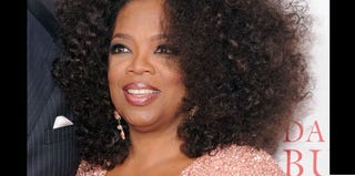 Oprah arrives at the premiere of Lee Daniels' The Butler in New York. (Jamie McCarthy/Getty Images)