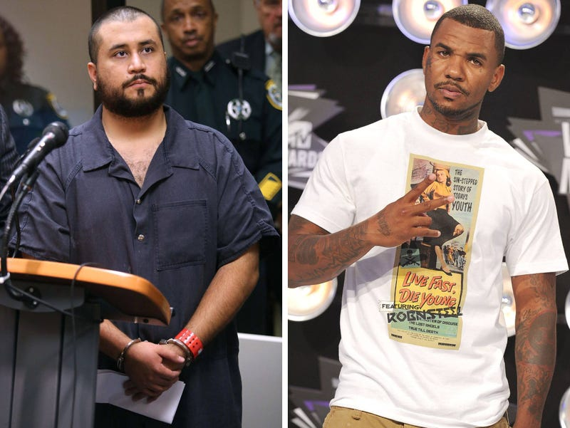 Illustration for article titled George Zimmerman Agrees to Fight Rapper The Game in Real Life Celebrity Death Match