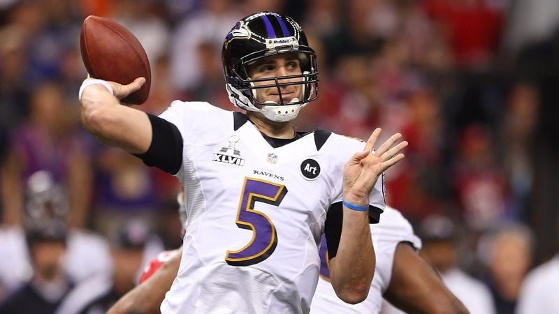Illustration for article titled Value Of U.S. Dollar Plummets After Joe Flacco Signs NFL's Richest Contract