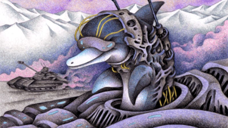 Illustration for article titled 10 of the most epic science fictional dolphins