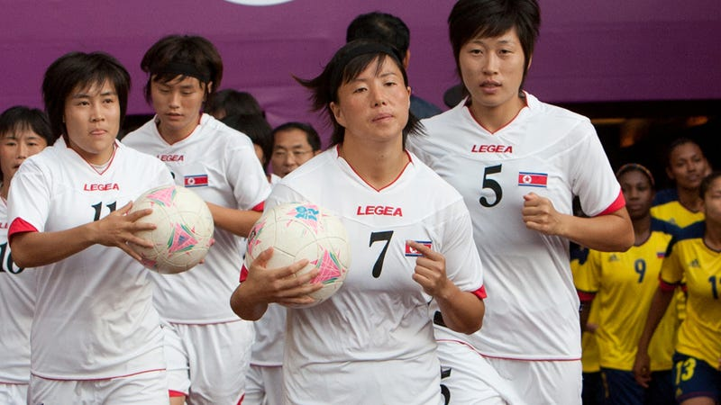 Illustration for article titled Idiot Olympics Fans Wonder Why All North Koreans Look Alike