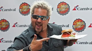 Illustration for article titled Awful Person Pays $100,000 To Be Guy Fieri's Pretend Friend