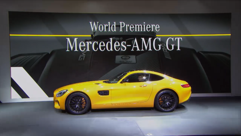 Illustration for article titled 2016 Mercedes-AMG GT: This Is It