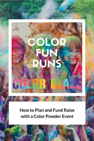 Illustration for article titled Color Fun Runs | How To Organize a Fun Run