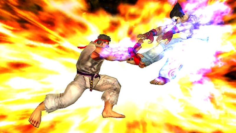 Illustration for article titled Street Fighter X Tekken Coming to iPhones This Summer, Probably Won't Have On-Disc DLC