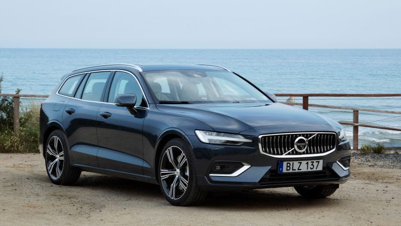 Illustration for article titled The 2019 Volvo V60 Wagon Starts at $39,895 and Will Be Factory Order Only