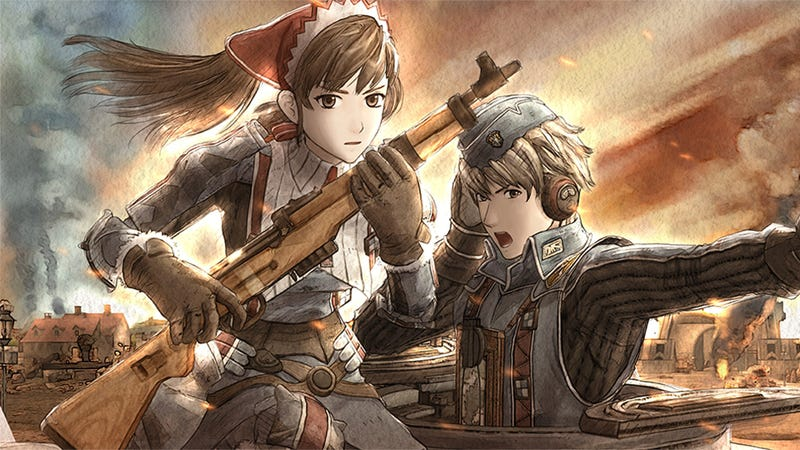 Illustration for article titled Valkyria Chronicles is My First and Only SRPG Love