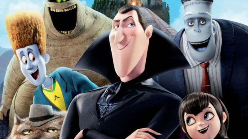 Illustration for article titled Sony announces new Hotel Transylvania and Smurfs movies