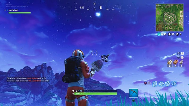 Illustration for article titled There's A Comet In Fortnite, And Players Have Wild Theories About What It Means