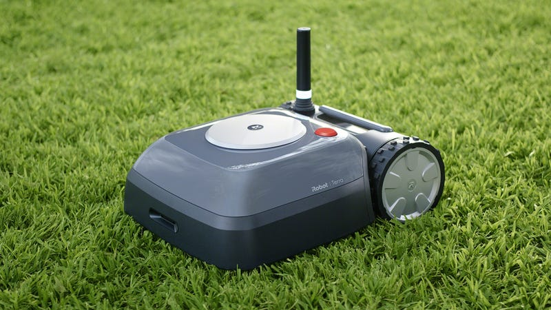The iRobot Terra will mow your lawn...and map it.