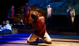 Isaiah Mays as Boy in Unexplored Interior at the Mosaic Theater Co. in Washington, D.C., Oct. 29-Nov. 29, 2015Stan Barouh