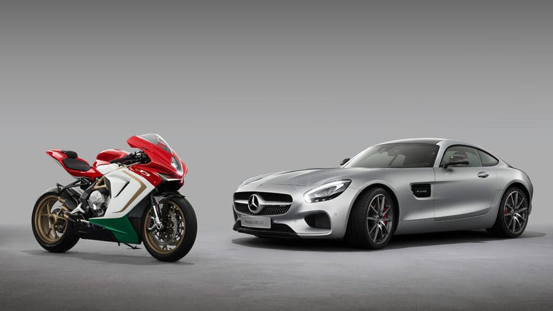 Illustration for article titled Mercedes-AMG stake in MV Agusta means sweet Lamborghini-Ducati rivalry