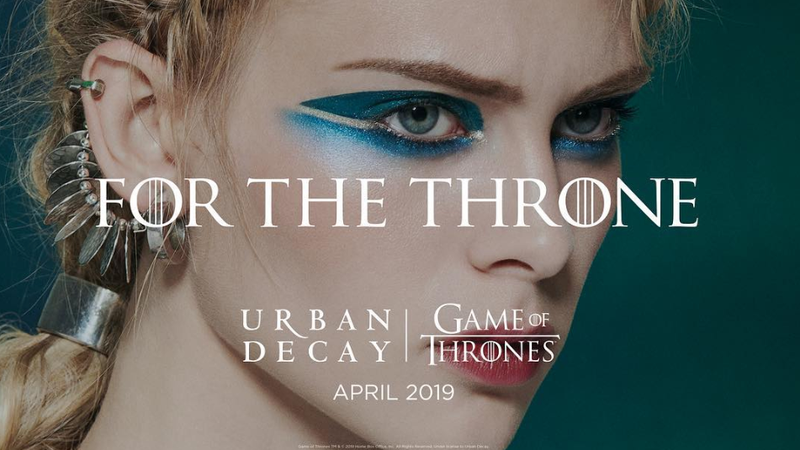 Illustration for article titled Get Ready to Be Pretty as a White Walker: Urban Decay to Release a Game of Thrones Collection